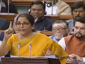 Budget 2020 Nirmala Sitharaman Sets New Record For The Longest Union Budget Speech