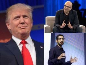 Trump Names Nris Including Satya Nadella And Pichai In Great American Economic Revival Industry