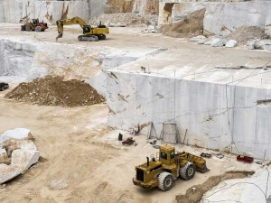 Corona Blow Marble Mining Industry In Economic Crisis