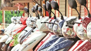 Percent Two Wheeler Sales Are High To Last Year May