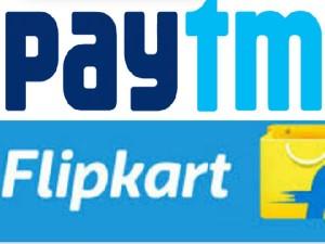 Flipkart Partners Paytm For Festive Sale